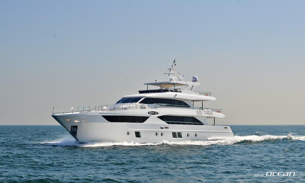 Gulf Craft Majesty 110 Luxury Motor Yacht Video Review