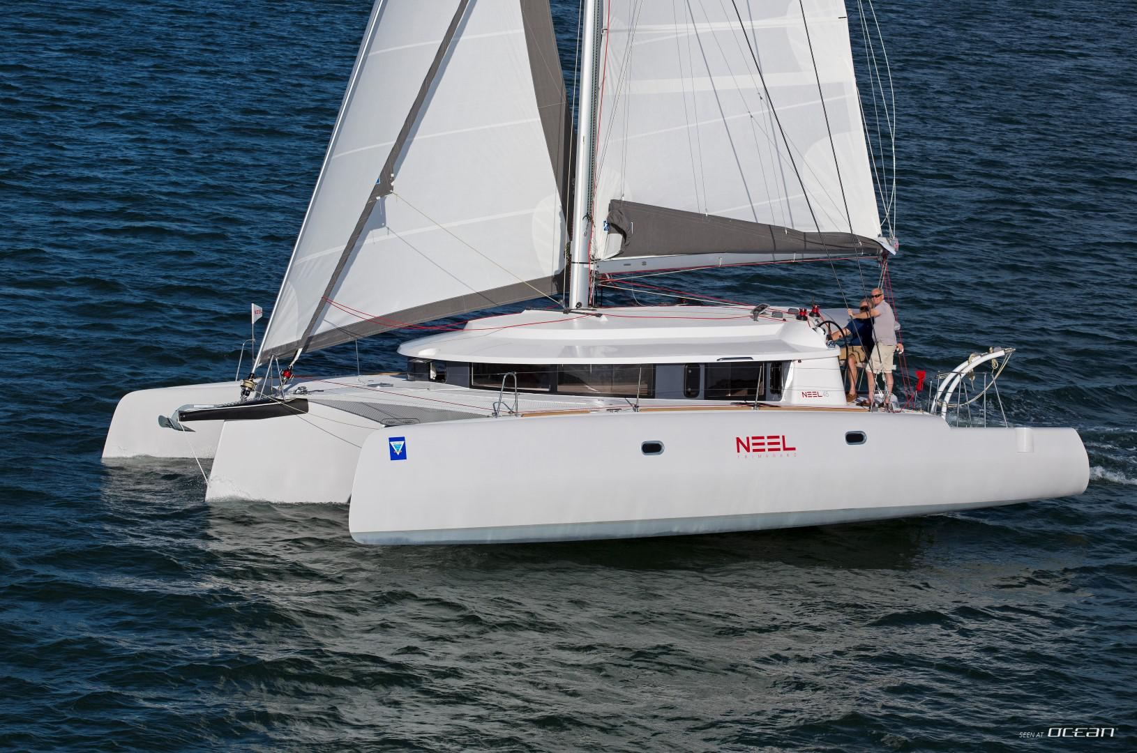 Book now catamaran Trimaran Neel 45 available in Bahamas