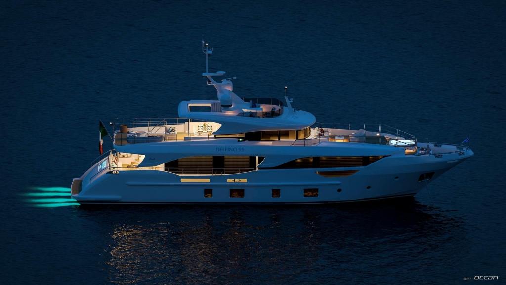 Benetti Delfino 95 | CHRISTELLA II luxury motor yacht launched