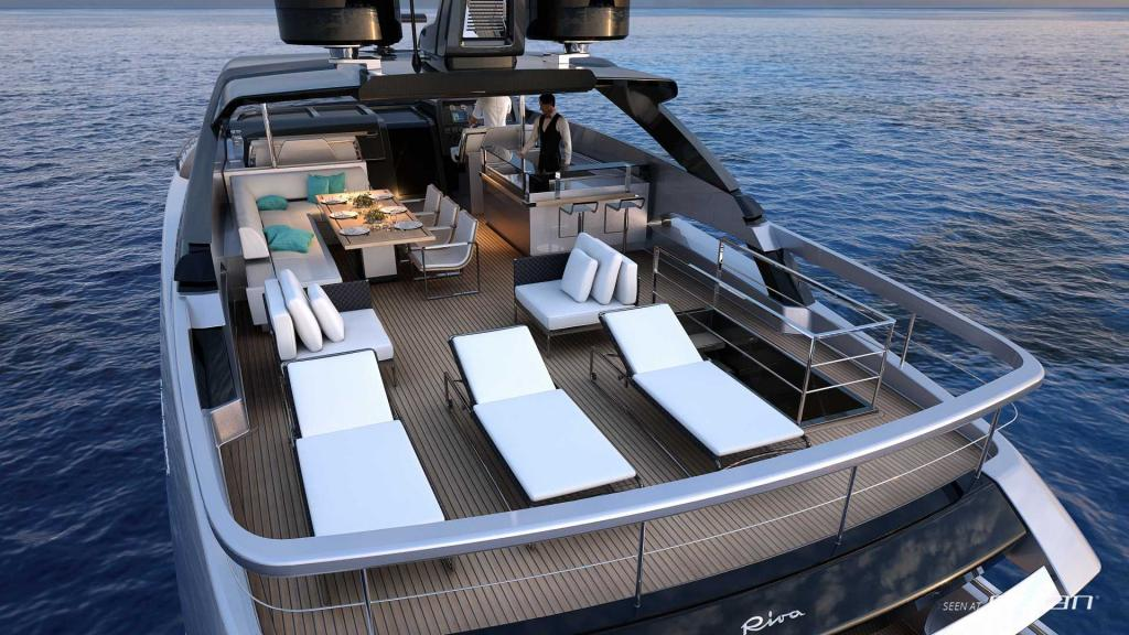 New Riva 100 Corsaro Is The Perfect Charter Yacht